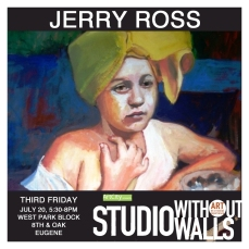 MEET THE ARTIST: Jerry Ross is an established Eugene painter who shows in Europe. Ross and his wife Angela travel frequently to Italy, which continues to be the inspiration for many works. Early in the series of journeys to Italy, Ross realized his affinity with the I Macchiaioli movement (Tuscany). jerryrosspittore.com #jerryross #jerryrosspittore #painter #artcityeugene #artcity #studiowithoutwalls #eugfun #eugeneoregon #eugeneartist #eugenejuly202018 #eugeneculturalservices